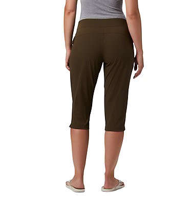 Women's Anytime Casual™ Capri Anytime Casual™ Capri | 319 | XS, Olive Green, back