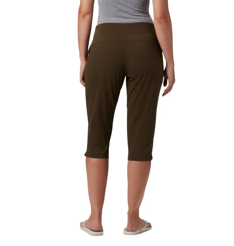 Anytime Casual™ Capri | 319 | S Women's Anytime Casual™ Capri, Olive Green, back