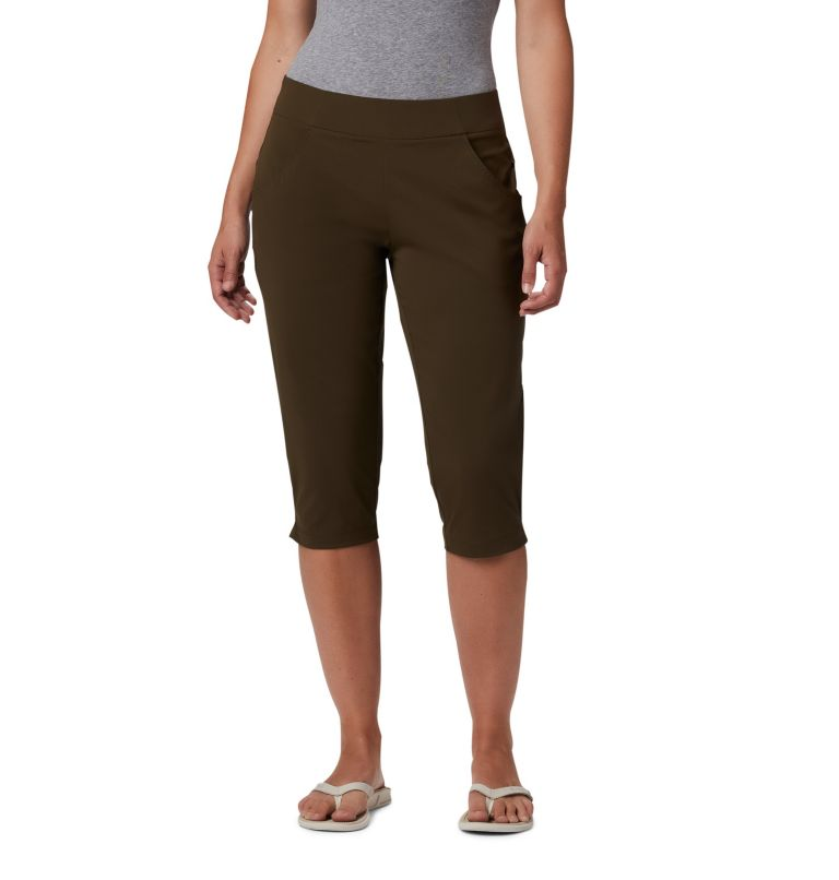 Anytime Casual™ Capri | 319 | L Women's Anytime Casual™ Capri, Olive Green, front