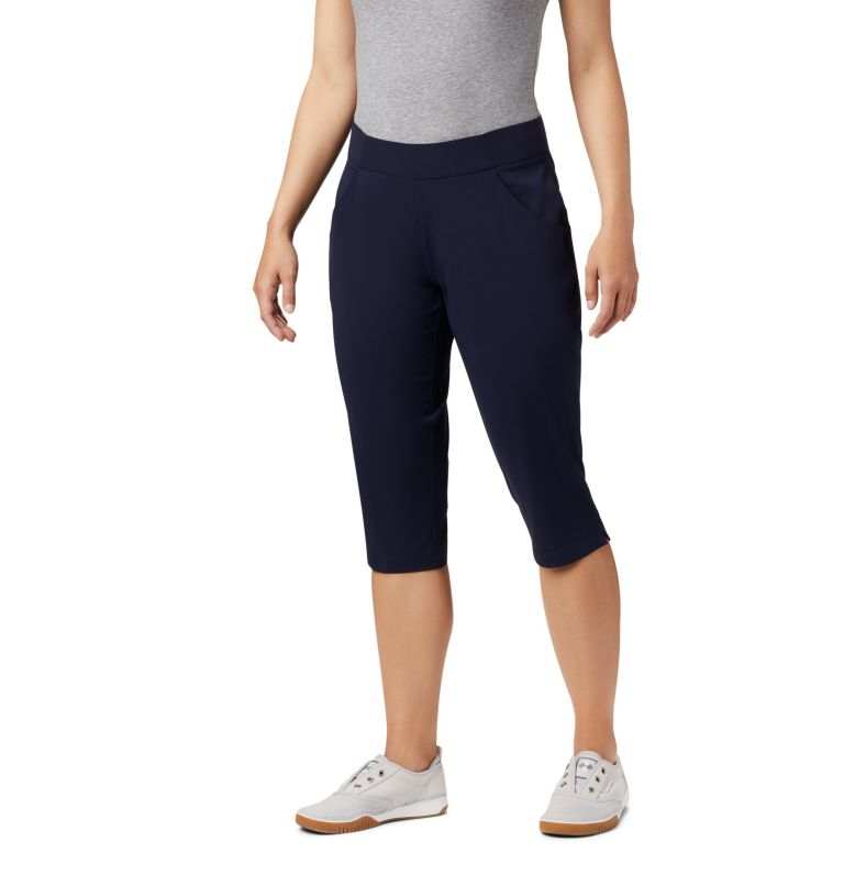 Anytime Casual™ Capri | 472 | XS Women's Anytime Casual™ Capri, Dark Nocturnal, front