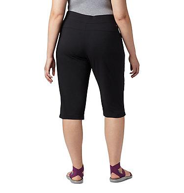 Women's Anytime Casual™ Capri - Plus Size Anytime Casual™ Capri | 010 | 1X, Black, back