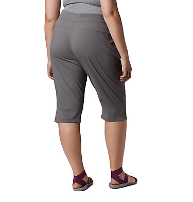 Women's Anytime Casual™ Capri - Plus Size Anytime Casual™ Capri | 023 | 3X, City Grey, back