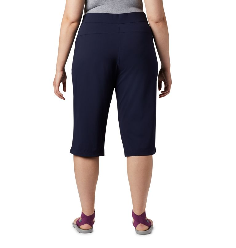 Women's Anytime Casual™ Capri - Plus Size Women's Anytime Casual™ Capri - Plus Size, back