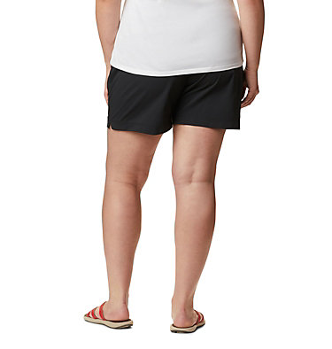 Short Anytime Casual™ pour femme - Grandes tailles Anytime Casual™ Short | 023 | 3X, Black, back