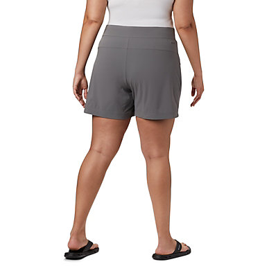 Short Anytime Casual™ pour femme - Grandes tailles Anytime Casual™ Short | 023 | 3X, City Grey, back