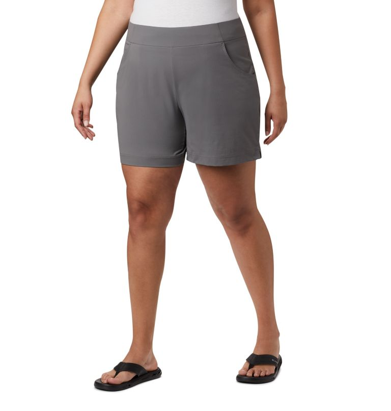 Women's Anytime Casual™ Shorts - Plus Size Women's Anytime Casual™ Shorts - Plus Size, front