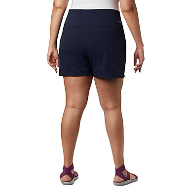 Short Anytime Casual™ pour femme - Grandes tailles Anytime Casual™ Short | 023 | 3X, Dark Nocturnal, back