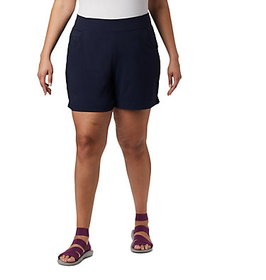 Short Anytime Casual™ pour femme - Grandes tailles Anytime Casual™ Short | 023 | 3X, Dark Nocturnal, front