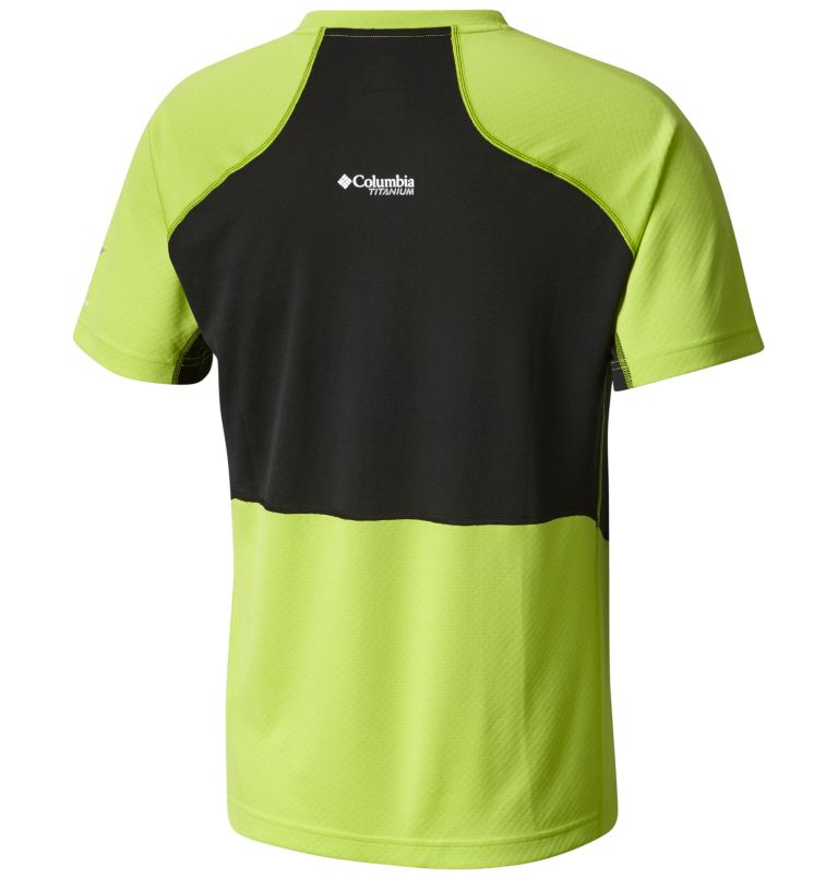 Titan Trail™ Short Sleeve Shir | 351 | XXL T-Shirt Titan Trail™ Homme, Fission, Black, back