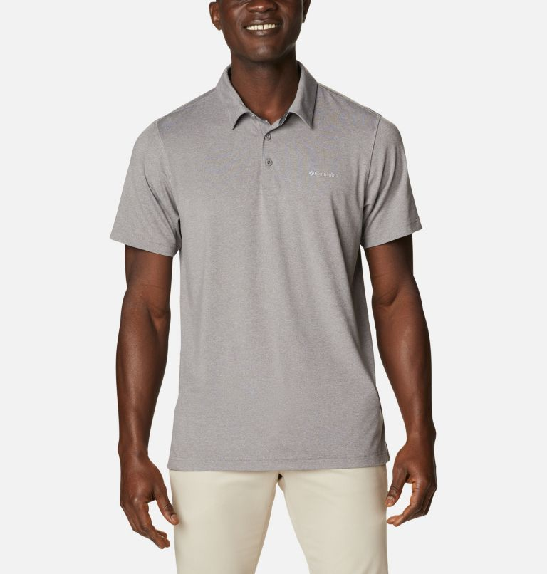 Tech Trail™ Polo | 004 | M Men's Tech Trail™ Polo Shirt, Boulder, front