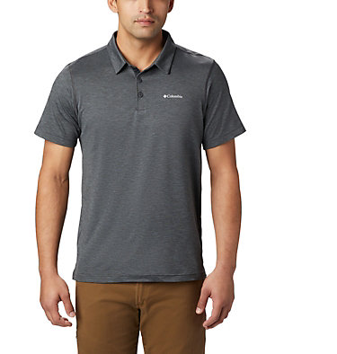 Men's Tech Trail™ Polo Shirt Tech Trail™ Polo | 613 | L, Shark, front