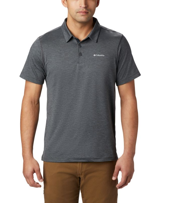 Tech Trail™ Polo | 012 | M Men's Tech Trail™ Polo, Shark, front
