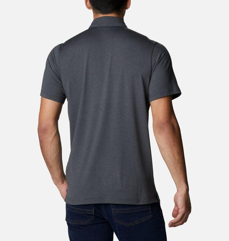 Tech Trail™ Polo   013   L Men's Tech Trail™ Polo Shirt, Shark, back