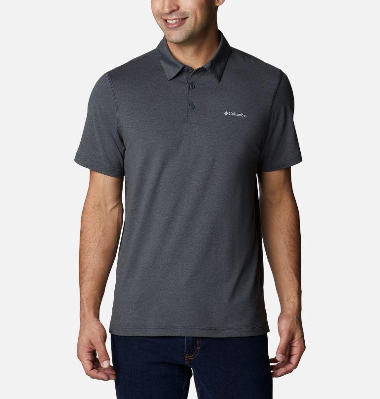 Tech Trail™ Polo   013   L Men's Tech Trail™ Polo Shirt, Shark, front
