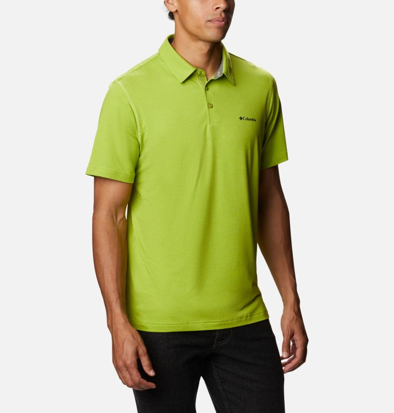 Tech Trail™ Polo | 352 | S Men's Tech Trail™ Polo Shirt, Matcha, a3