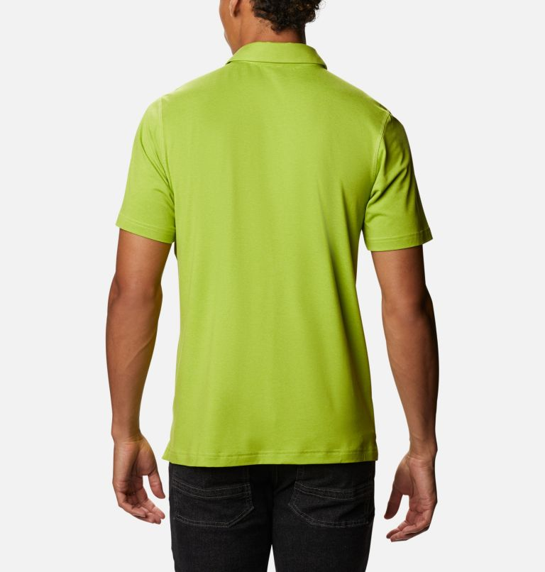 Tech Trail™ Polo | 352 | XL Men's Tech Trail™ Polo, Matcha, back