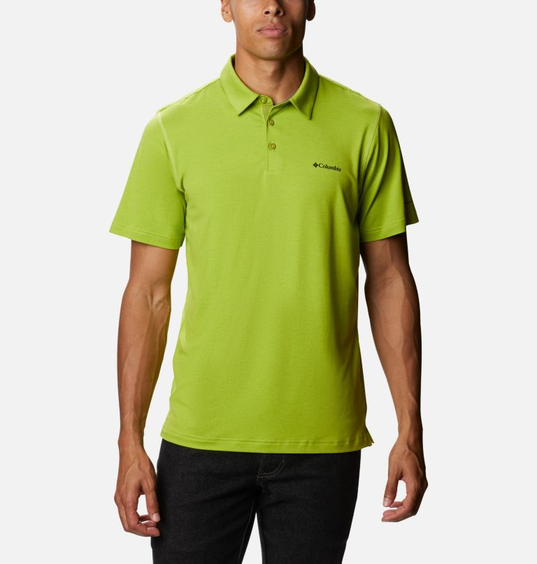 Tech Trail™ Polo | 352 | XL Men's Tech Trail™ Polo, Matcha, front