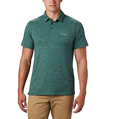 Men's Tech Trail™ Polo Shirt Tech Trail™ Polo | 613 | L, Rain Forest, front