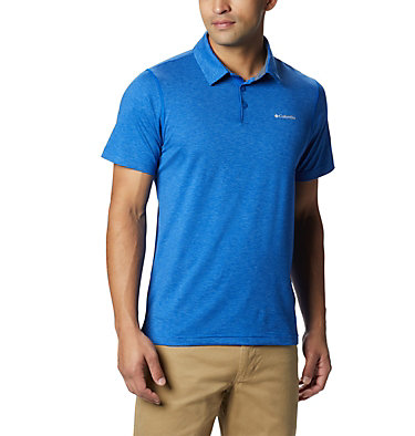 Men's Tech Trail™ Polo Shirt Tech Trail™ Polo | 613 | L, Azul, front