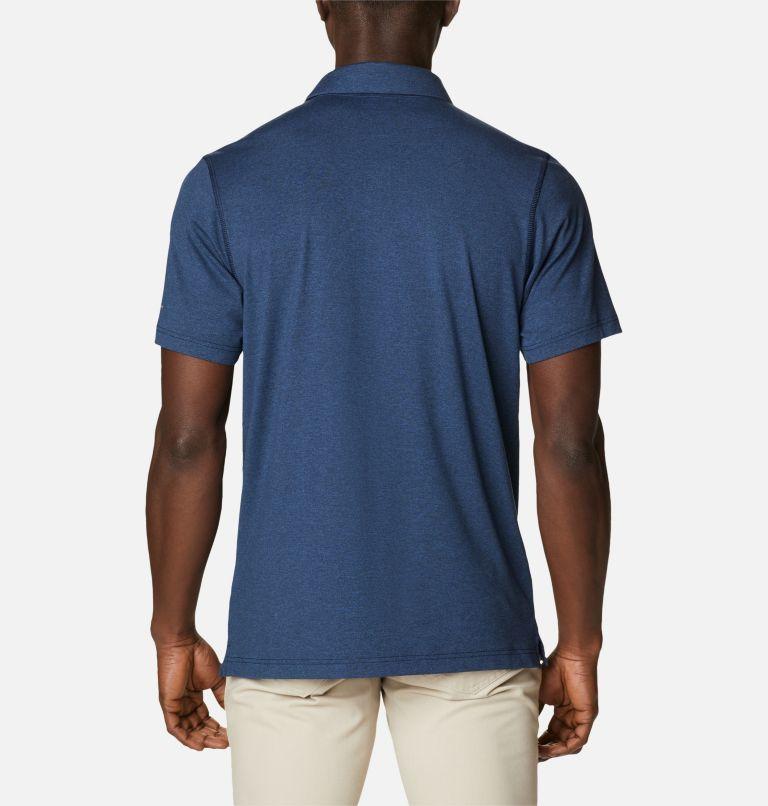 Tech Trail™ Polo   465   L Men's Tech Trail™ Polo Shirt, Collegiate Navy, back