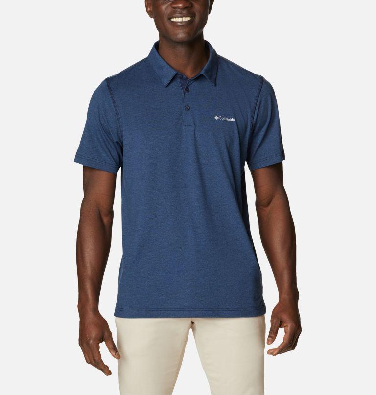 Tech Trail™ Polo   465   L Men's Tech Trail™ Polo Shirt, Collegiate Navy, front