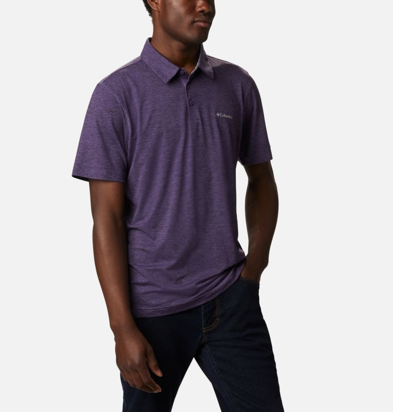 Tech Trail™ Polo | 555 | M Men's Tech Trail™ Polo Shirt, Soft Purple, a3