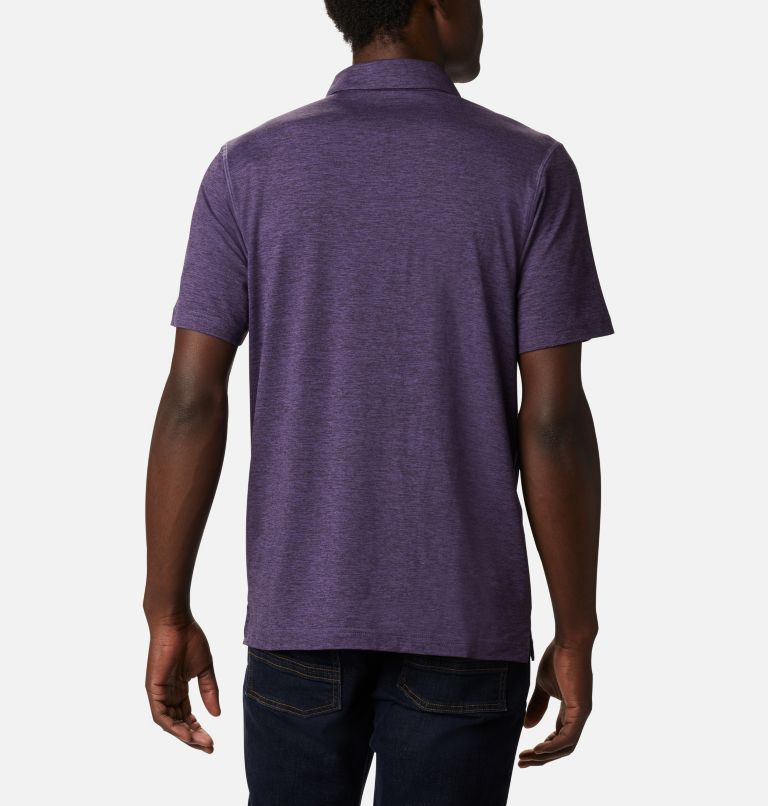 Tech Trail™ Polo | 555 | M Men's Tech Trail™ Polo Shirt, Soft Purple, back