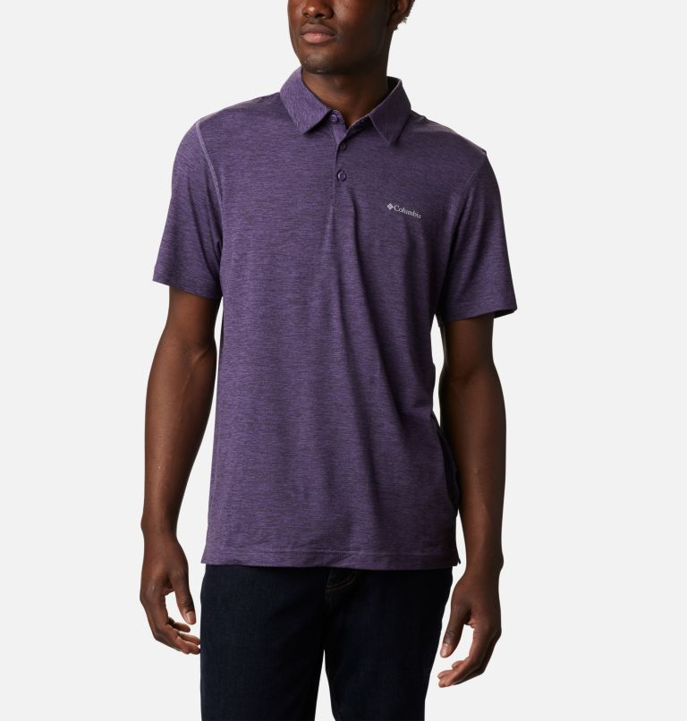 Tech Trail™ Polo | 555 | M Men's Tech Trail™ Polo Shirt, Soft Purple, front