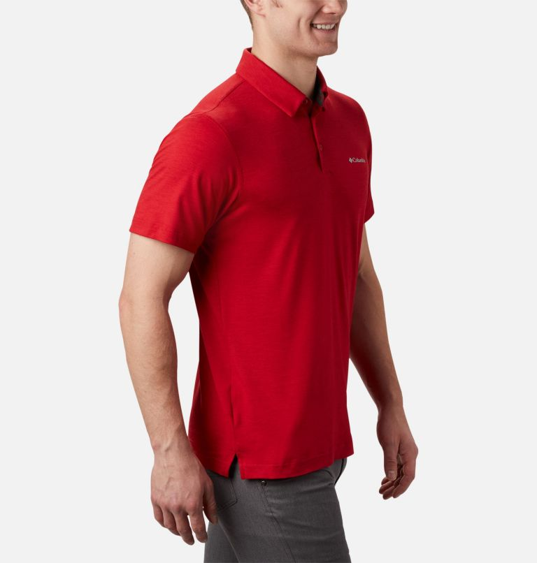 Tech Trail™ Polo | 613 | XL Men's Tech Trail™ Polo Shirt, Mountain Red, a2