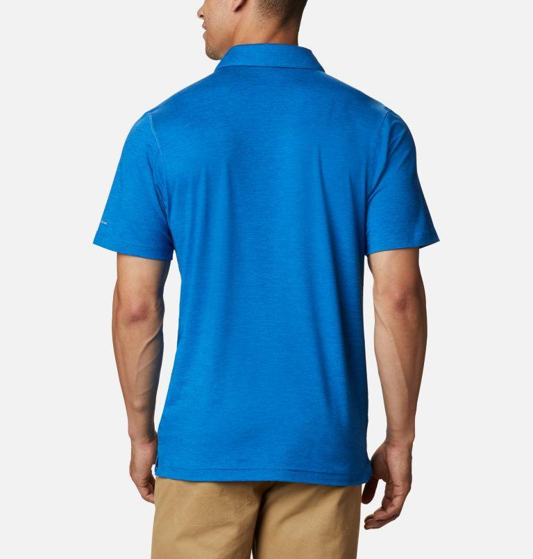 Tech Trail™ Polo | 432 | 3XT Men's Tech Trail™ Polo – Tall, Bright Indigo, back