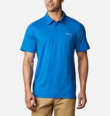 Men's Tech Trail™ Polo – Tall Tech Trail™ Polo | 613 | 2XT, Bright Indigo, front