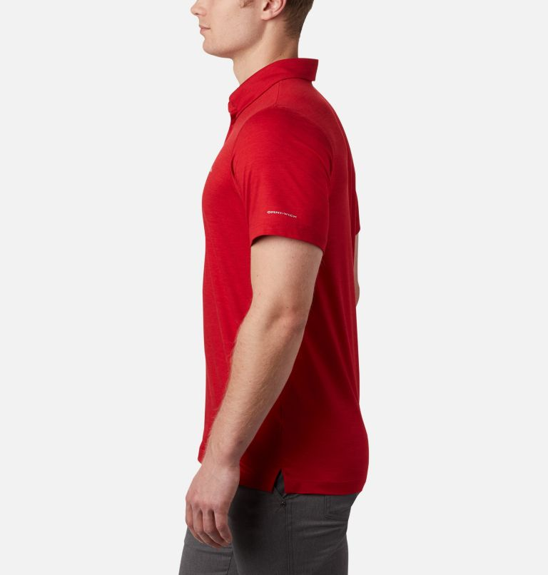 Tech Trail™ Polo | 613 | XLT Men's Tech Trail™ Polo – Tall, Mountain Red, a1