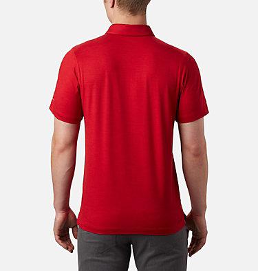 Men's Tech Trail™ Polo – Tall Tech Trail™ Polo | 613 | 2XT, Mountain Red, back