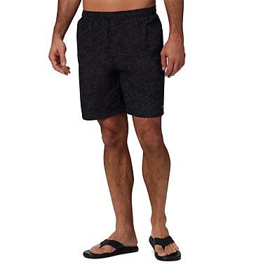 Men's Big Dippers™ Water Shorts - Big Big Dippers™ Water Short | 012 | 2X, Black Wavy Islands, front