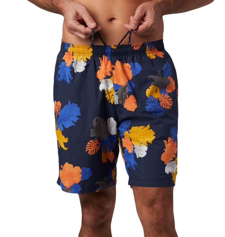 Big Dippers™ Water Short | 465 | 3X Men's Big Dippers™ Water Shorts - Big, Collegiate Navy Tropical, a3