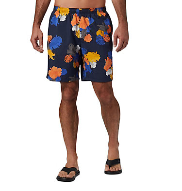 Men's Big Dippers™ Water Shorts - Big Big Dippers™ Water Short | 465 | 1X, Collegiate Navy Tropical, front