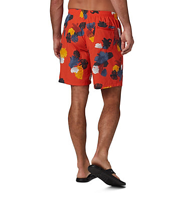 Men's Big Dippers™ Water Shorts - Big Big Dippers™ Water Short | 012 | 2X, Wildfire Tropical, back
