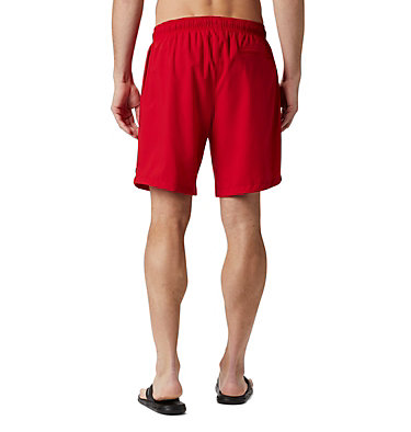 Men's Blue Magic™ Water Shorts - Big Blue Magic™ Water Short | 023 | 3X, Mountain Red Stars & Stripes, back