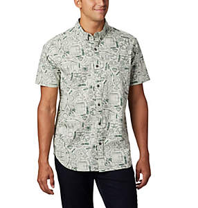 Men's Rapid Rivers™ Printed Short Sleeve Shirt