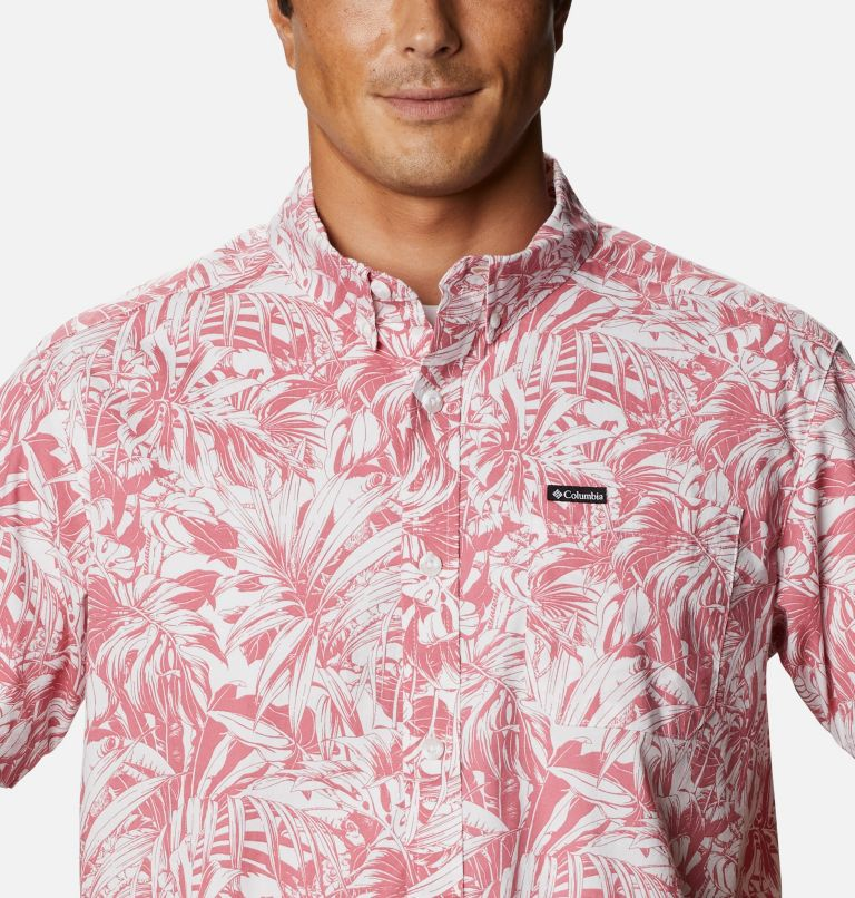 Rapid Rivers™ Printed Short Sleeve Shirt | 661 | L Men's Rapid Rivers™ Printed Short Sleeve Shirt, Rosette Toucanical, a2
