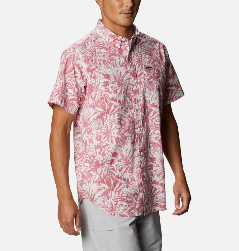 Rapid Rivers™ Printed Short Sleeve Shirt | 661 | L Men's Rapid Rivers™ Printed Short Sleeve Shirt, Rosette Toucanical, a3