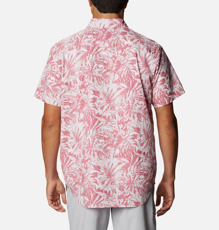 Rapid Rivers™ Printed Short Sleeve Shirt | 661 | L Men's Rapid Rivers™ Printed Short Sleeve Shirt, Rosette Toucanical, back