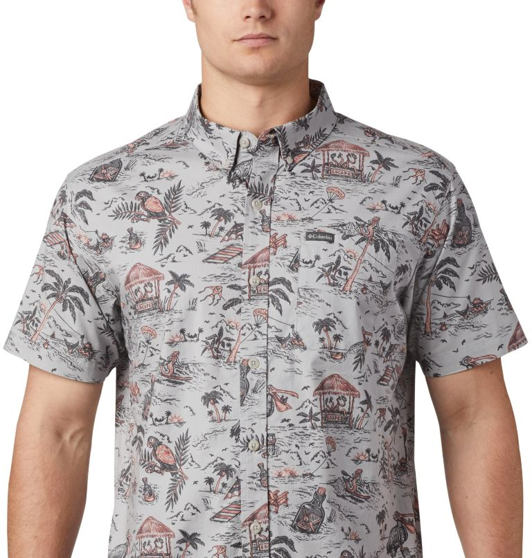 Men's Rapid Rivers™ Printed Short Sleeve Shirt – Big Men's Rapid Rivers™ Printed Short Sleeve Shirt – Big, a1