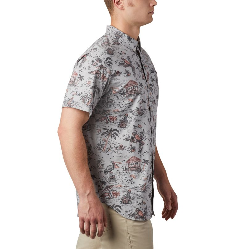 Men's Rapid Rivers™ Printed Short Sleeve Shirt – Big Men's Rapid Rivers™ Printed Short Sleeve Shirt – Big, a3