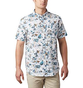Chemise à manches courtes imprimée Rapid Rivers™ pour homme – Tailles fortes
