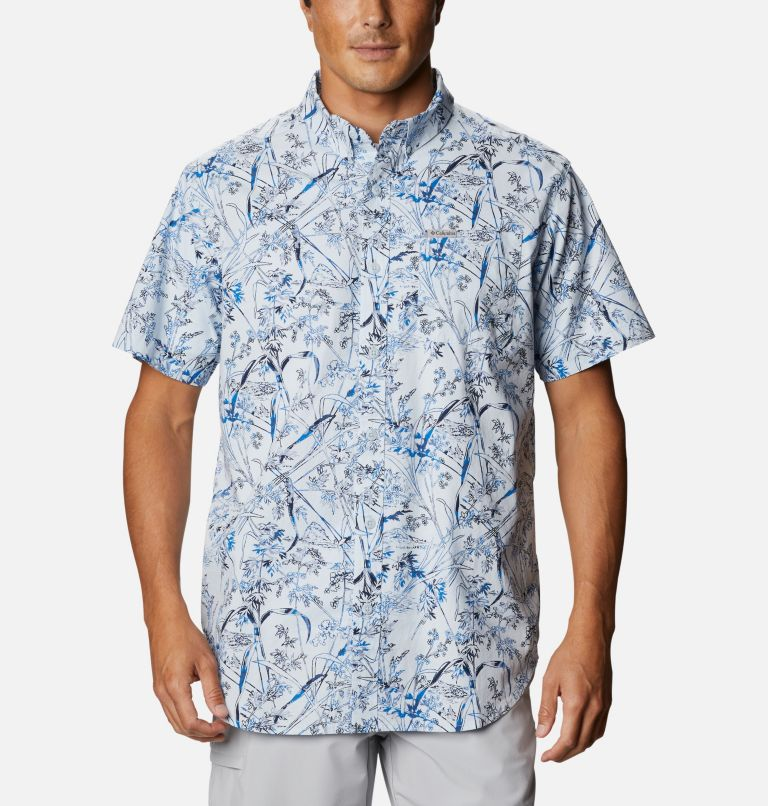 Men's Rapid Rivers™ Printed Short Sleeve Shirt – Big Men's Rapid Rivers™ Printed Short Sleeve Shirt – Big, front