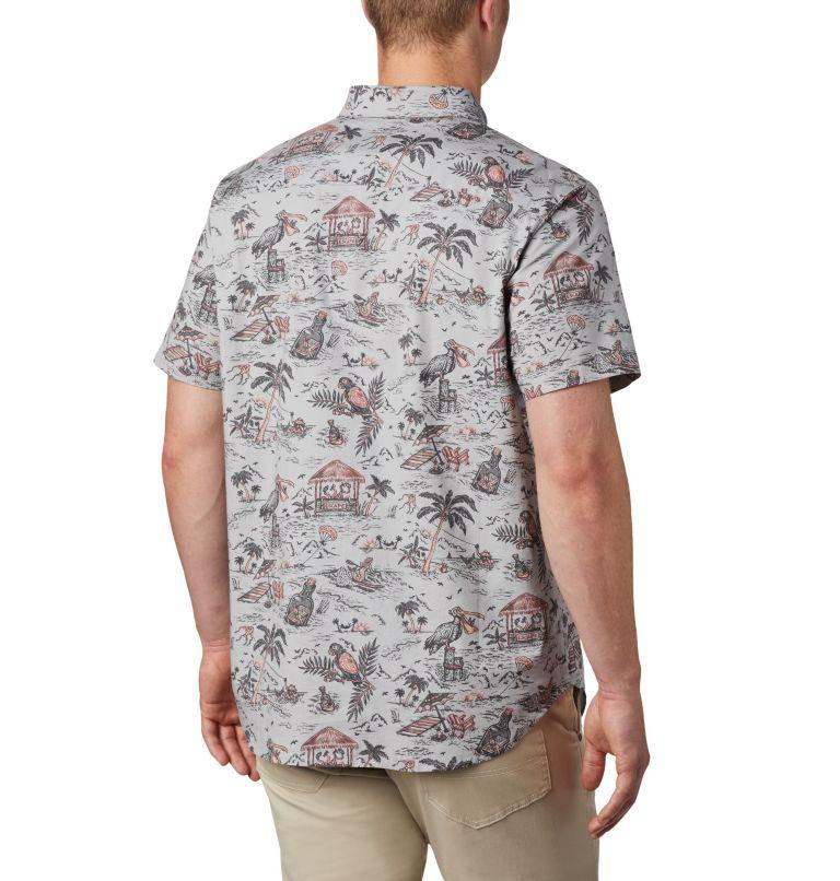 Chemise à manches courtes imprimée Rapid Rivers™ pour homme – Grandes tailles Chemise à manches courtes imprimée Rapid Rivers™ pour homme – Grandes tailles, back