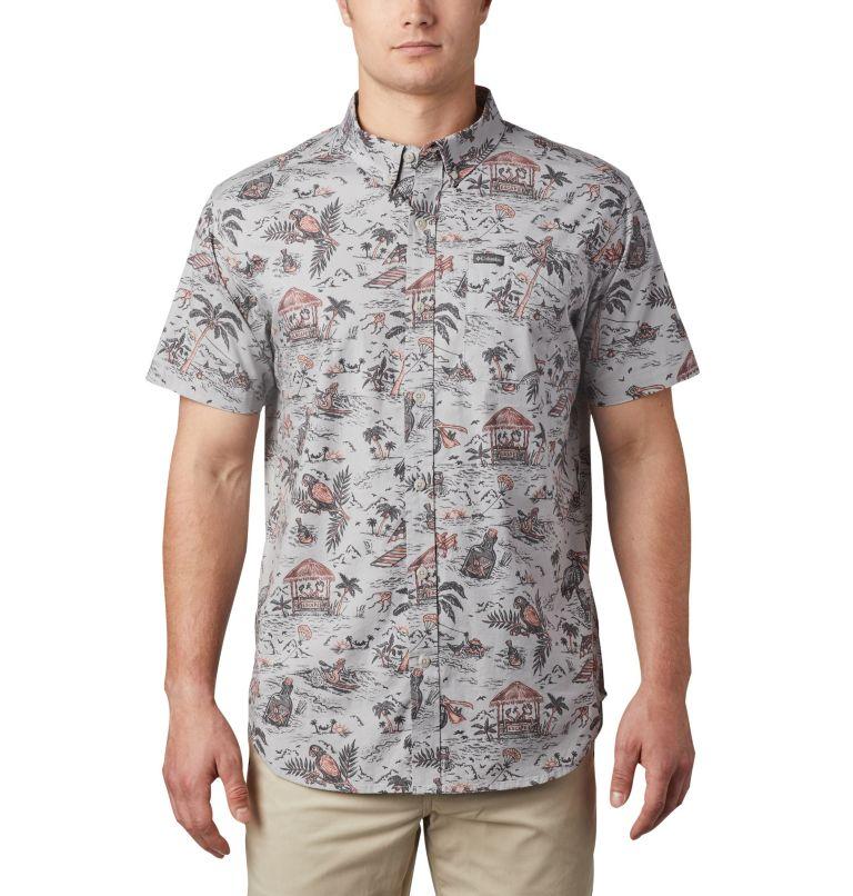 Chemise à manches courtes imprimée Rapid Rivers™ pour homme – Grandes tailles Chemise à manches courtes imprimée Rapid Rivers™ pour homme – Grandes tailles, front