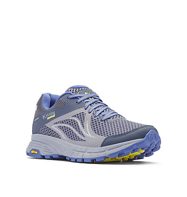 Mojave Trail II OutDry™ Trail-Running-Schuh für Damen MOJAVE TRAIL™ II OUTDRY™ | 033 | 5, Ti Grey Steel, Acid Yellow, 3/4 front