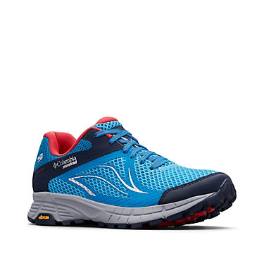 Mojave Trail II OutDry™ Trail-Running-Schuh für Damen MOJAVE TRAIL™ II OUTDRY™ | 033 | 5, Blue Chill, Red Camellia, 3/4 front